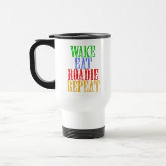 Wake Eat ROADIE Repeat Travel Mug