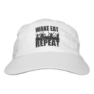 WAKE EAT ROCK REPEAT #2 (blk) Hat