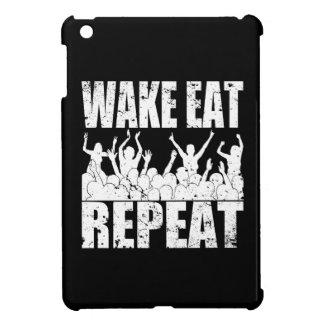 WAKE EAT ROCK REPEAT #2 (wht) Case For The iPad Mini