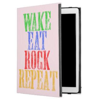 "WAKE EAT ROCK REPEAT #3 iPad PRO 12.9"" CASE"