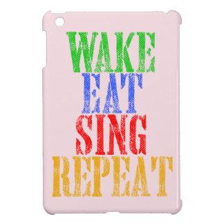 Wake Eat Sing Repeat Case For The iPad Mini