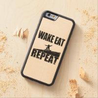 Wake Eat Snowboard Repeat #2 (blk)