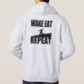 Wake Eat Snowboard Repeat #2 (blk) Hoodie