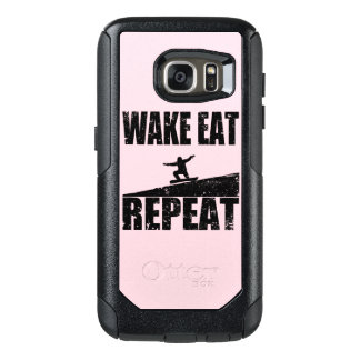 Wake Eat Snowboard Repeat #2 (blk) OtterBox Samsung Galaxy S7 Case