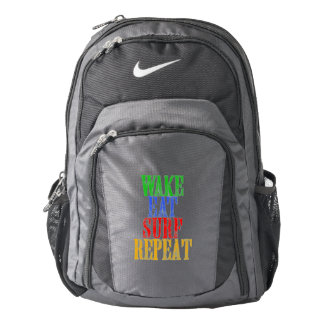 WAKE EAT SURF REPEAT BACKPACK