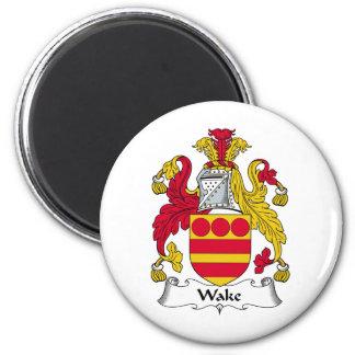 Wake Family Crest Magnet