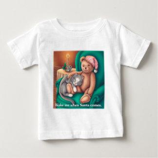 Wake Me When Santa Comes Baby T-Shirt