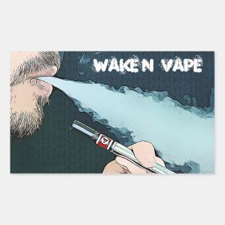 Wake N Vape Vaping Stickers