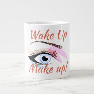 Wake up and Make up Coffee Mug