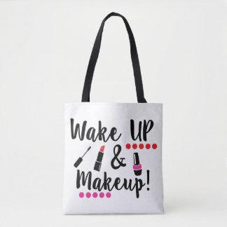 Wake Up And Makeup Tote