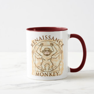 WAKE UP AND SMELL THE MONKEY! MUG