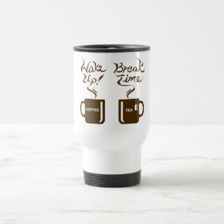 Wake up! break time mug