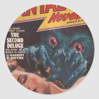 Wake Up! Classic Round Sticker