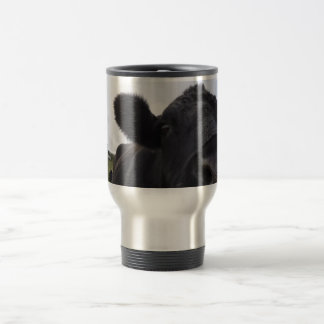Wake Up Cow travel mug