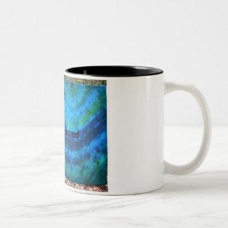 Wake up Feeling Fresh Two-Tone Coffee Mug