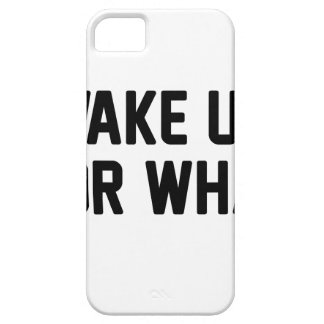 Wake Up For What Barely There iPhone 5 Case