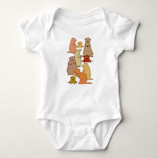 Wake Up Groundhogs! Baby Bodysuit