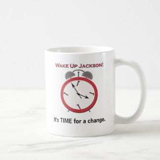 WAKE UP JACKSON COFFEE MUG