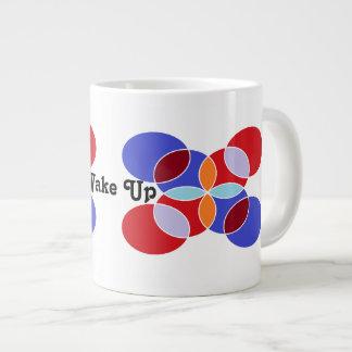 Wake Up Large Coffee Mug
