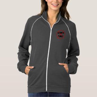 Wake Up Millennials Gray Zip-Front Sweatshirt
