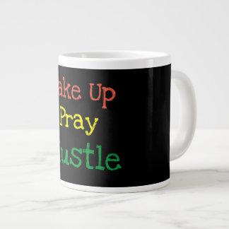 Wake Up. Pray. Hustle. Mug