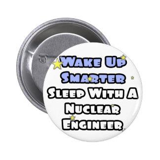 Wake Up Smarter Sleep w Nuclear Engineer Button