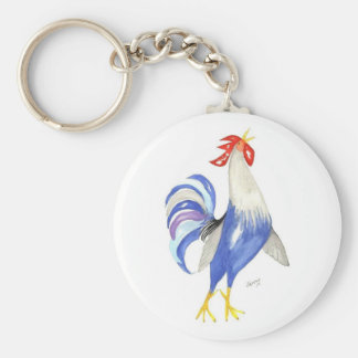 WAKE-UP Time -- rooster keychain