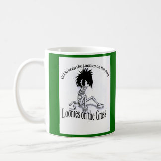 Wake Up with Loonies on the Grass Classic White Coffee Mug