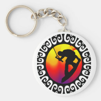 WAKEBOARD ALL WEIGHED KEY CHAIN