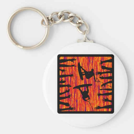Wakeboard Butter Boxer Key Chain