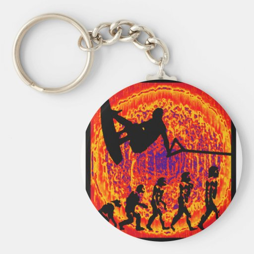 Wakeboard Clean Side Key Chains