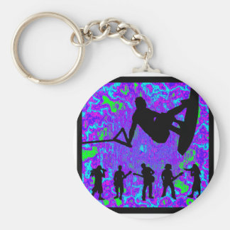 Wakeboard For Music Key Chain