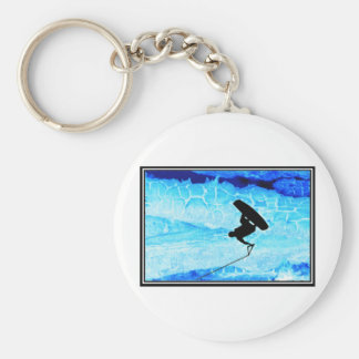 wakeboard Ice Key Chain