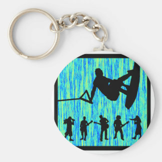 Wakeboard in Harmony Key Chains