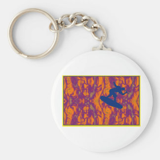 wakeboard melt key chain