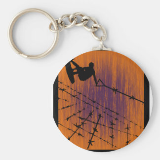 Wakeboard No Deception Keychain