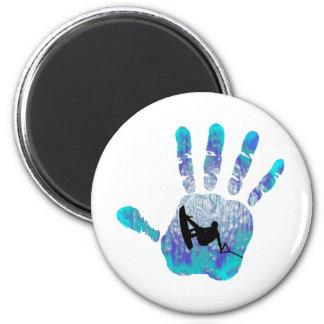 Wakeboard OF BELIZE 6 Cm Round Magnet