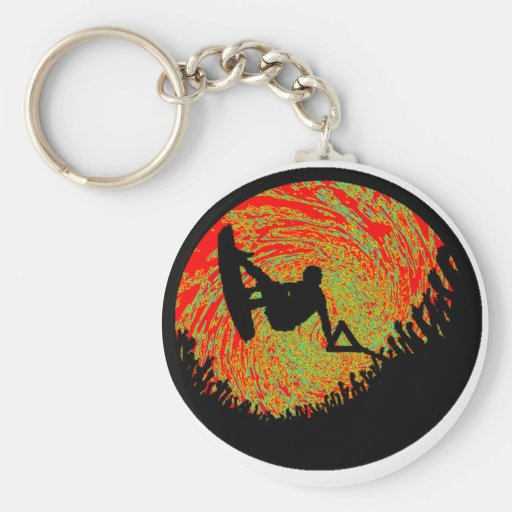 Wakeboard People Souled Keychains