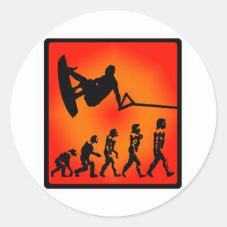 Wakeboard Public Domain Sticker