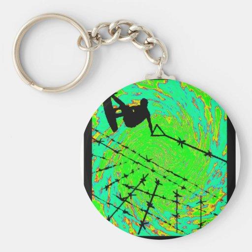 Wakeboard Scarecrow Horizon Keychains