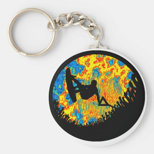 Wakeboard Soulful Sounds Key Chains