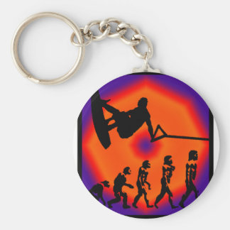 Wakeboard The Lighted Key Chain