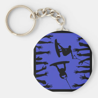 Wakeboard The Main Keychain