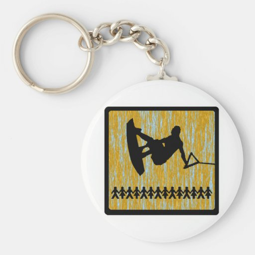 wakeboard the sonnet keychain