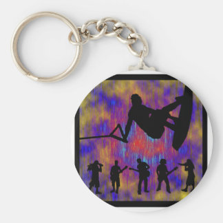Wakeboard The Trips Key Chain