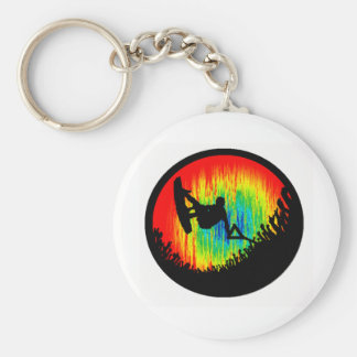 Wakeboard the Wakeboarder Keychain