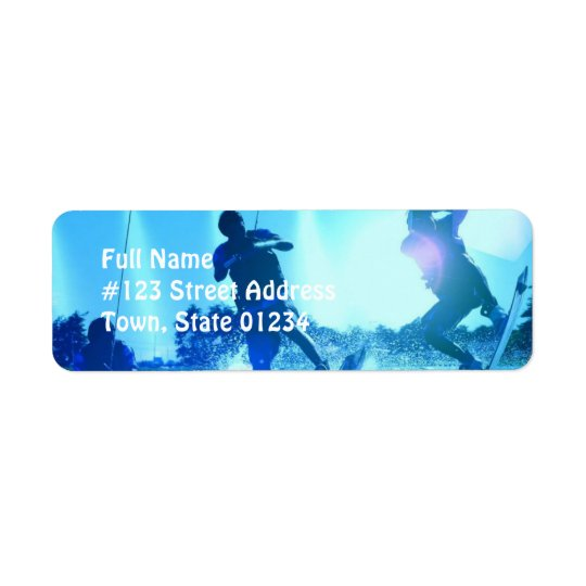Wakeboard Trio Return Address Label
