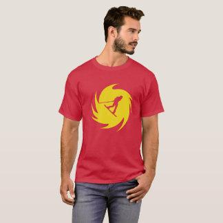 Wakeboard Yellow Swirl T-Shirt