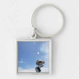 Wakeboarder Jumping Key Chains