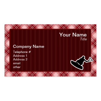 Wakeboarder Pack Of Standard Business Cards